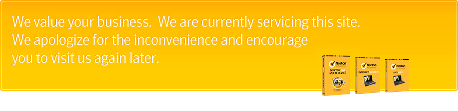 We value your business.  We are currently servicing this site. We apologize for the inconvenience and encourage you to visit us again later.