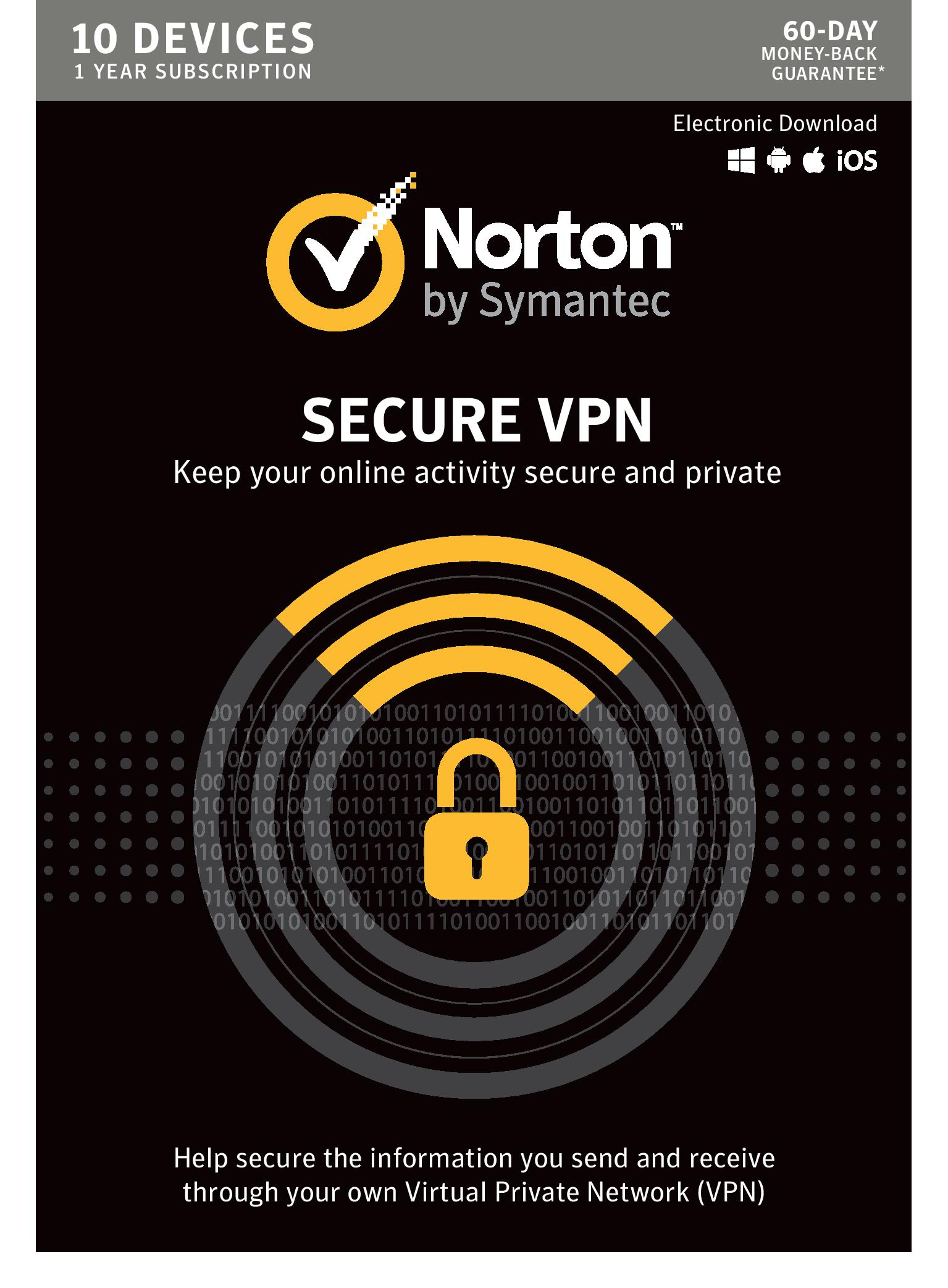 Norton WiFi Privacy VPN - 10 Devices