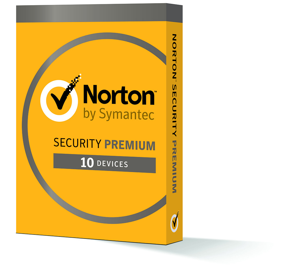 Norton Security Premium - 10 Devices - 1 Year Subscription