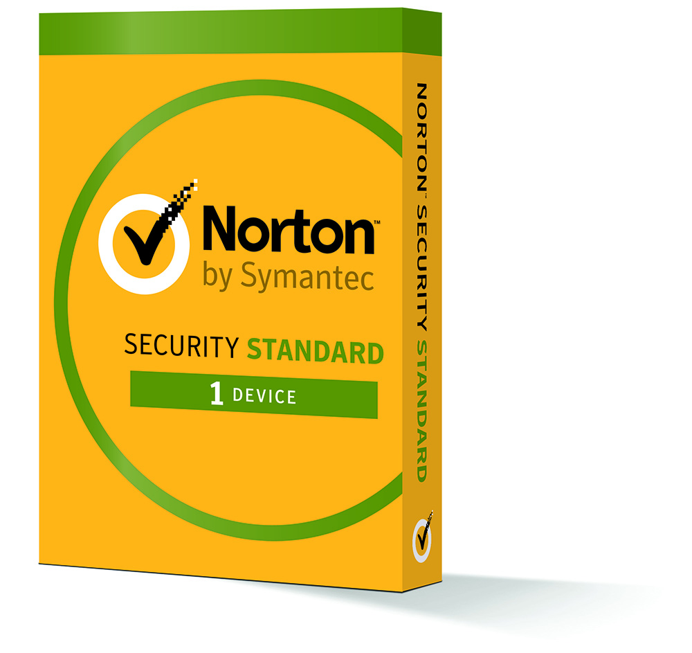 Norton Security Standard 2017 for 1 PC or Mac 1 Year Subs...