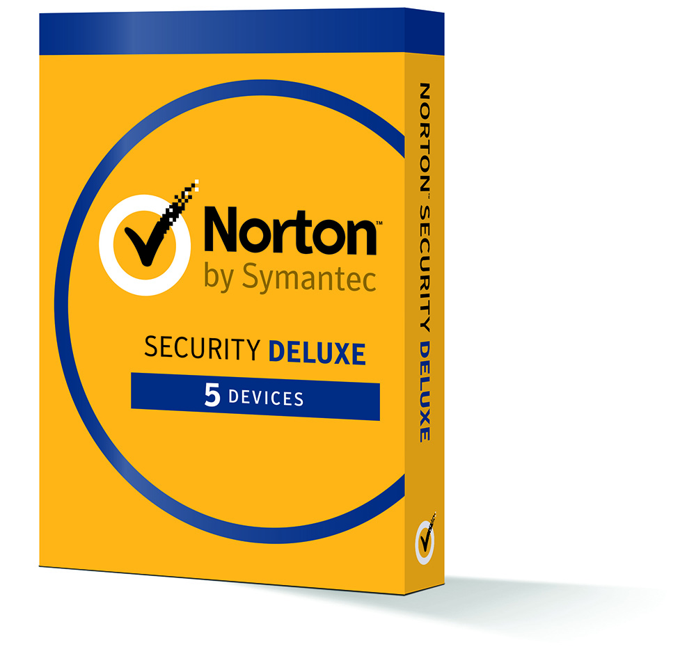 Norton Security Deluxe - 5 Devices - 1 Year Subscription