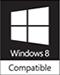 Microsoft Windows 8 Compatible